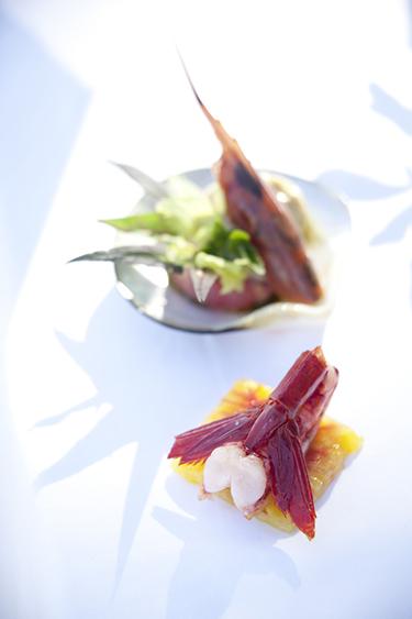 résidence pinède-carabinéros cuisinés au sautoir
